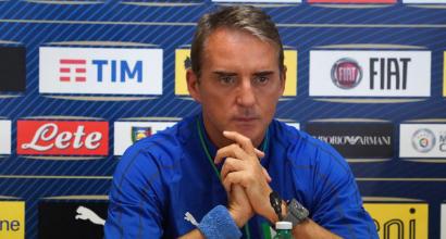 """Italia, Mancini: """"Servono i gol degli attaccanti, ma arriveranno"""""""