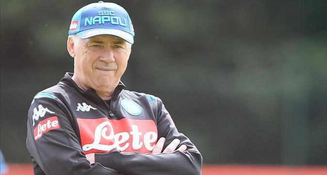 """Napoli, Ancelotti: """"La 10 a James? Basta che arrivi... No a Insigne per Icardi"""""""