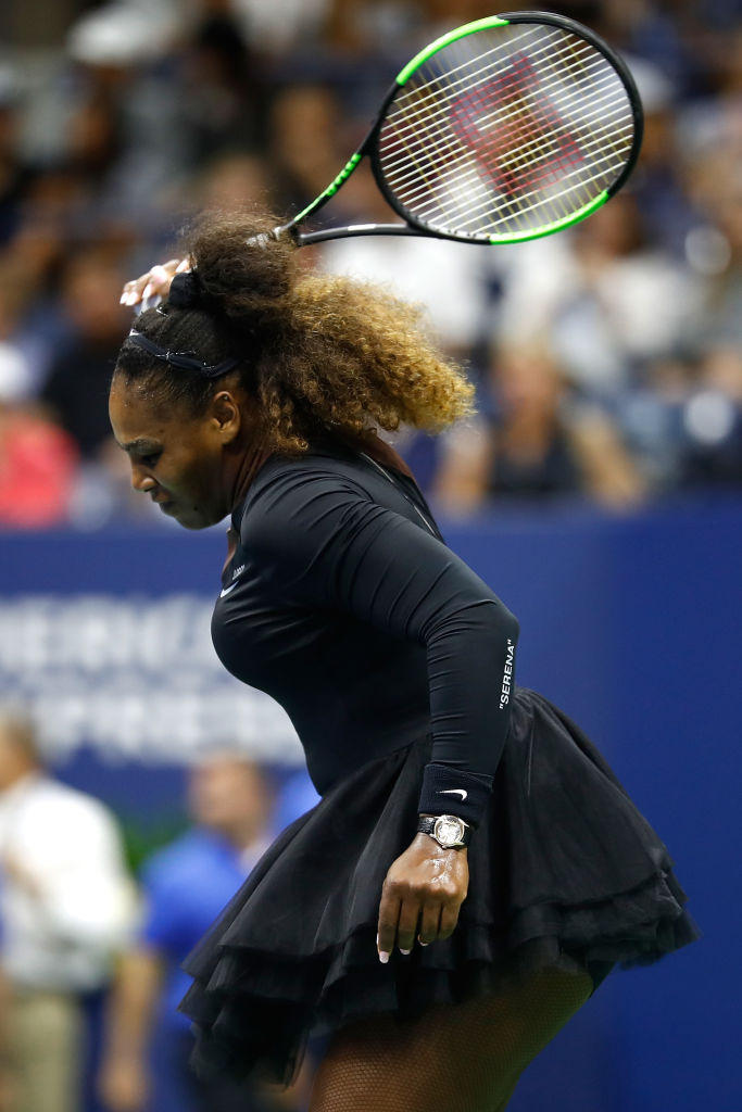 Us Open, rabbia Williams: proteste e racchetta rotta