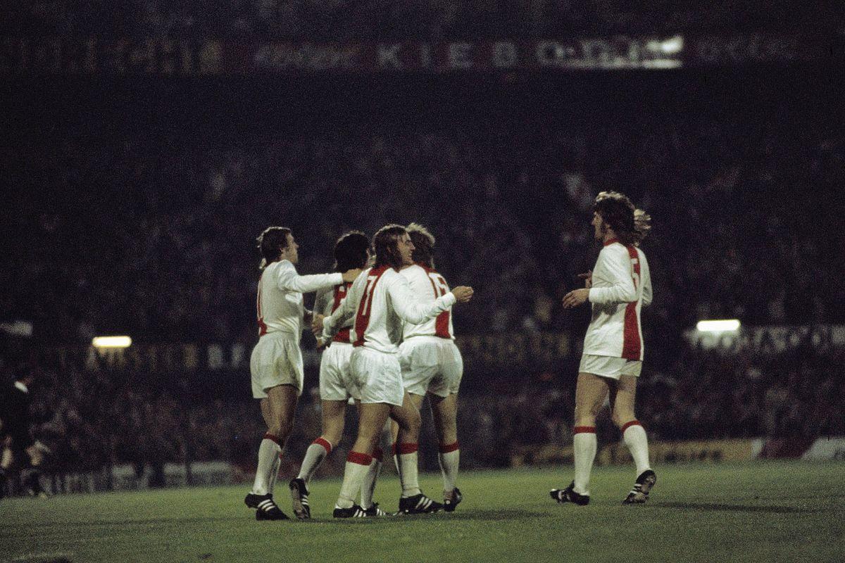 Ajax, 1972. Finale vinta contro l'Inter 2-0