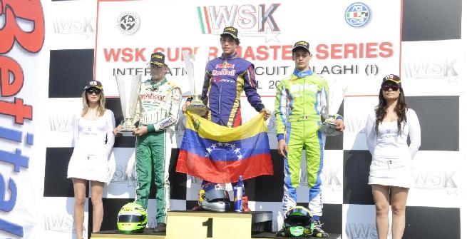Kart: Mick Junior, un podio per papà Schumacher