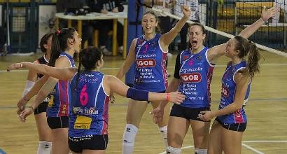 Volley, A1 femminile: Modena beffata, la Pomì chiude seconda