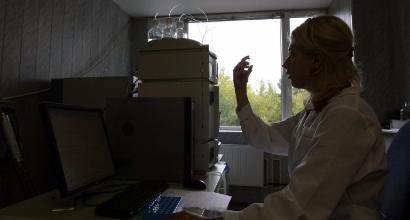 Laboratorio Antidoping (Afp)