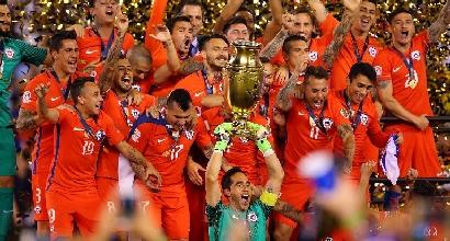 Coppa America: maledizione Argentina, trionfa il Cile