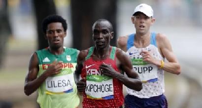 Rio 2016, atletica: nella maratona oro per il keniano Kipchoge