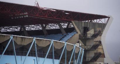 Rinviata Celta-Real Madrid: crolla il tetto dello stadio