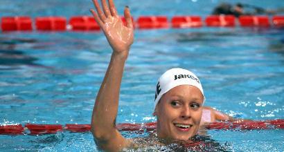 Nuoto: Pellegrini show sui 200 dorso