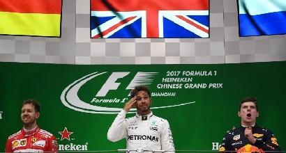 F1, pagelle GP Cina: Vettel frenato dal fantasmino Raikkonen