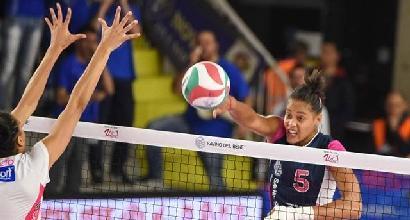 Volley, playoff A1 femminile: Conegliano e Novara si rialzano