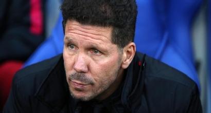 """Atletico, Simeone: """"La squadra ha fatto un lavoro straordinario"""""""
