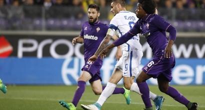 Fiorentina-Inter, foto Lapresse