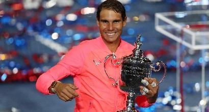 Tennis, Us Open:il trionfo di Nadal
