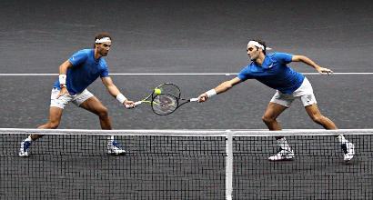 """Federer e il doppio con Nadal: """"Potrei abituarmi"""""""