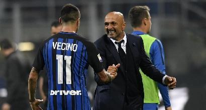 Serie A: Inter-Sampdoria, nerazzurri a caccia di una notte in vetta