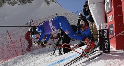 Sci, discesa Cortina: Goggia subito fuori, trionfo Vonn