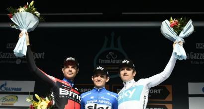 Tirreno-Adriatico 2018, trionfa Michal Kwiatkowski