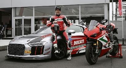 Carlos Checa con Audi al Nürburgring
