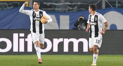 Serie A, l'Atalanta ferma la Juve: 2-2