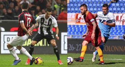 Serie A, Juventus e Milan a +6 rispetto all'andata del 2017/18