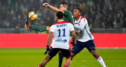 Ligue1: Dembele-gol all'ultimo minuto, il derby è del Lione! Vince in trasferta il Marsiglia