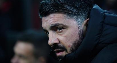 """Milan, Gattuso: """"Buona partita, dobbiamo continuare ad avere fame"""""""