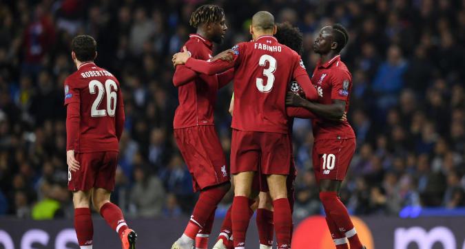 Champions League: il Liverpool firma il poker e vola in semifinale