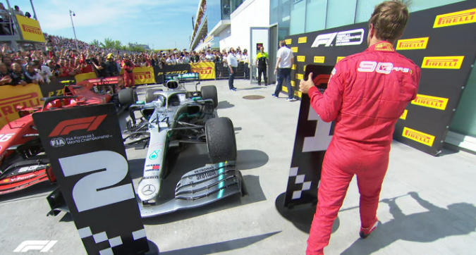 F1 Canada, Vettel è una furia: