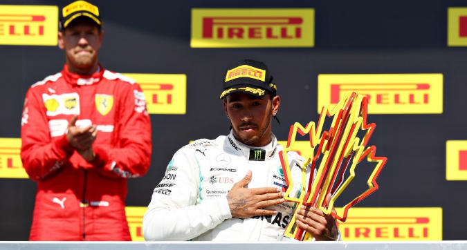 "F1 Canda, Hamilton: ""Ho spinto Vettel all'errore"""