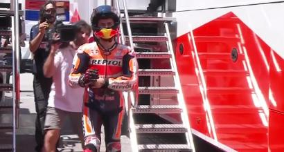 """MotoGP Catalogna, Lorenzo: """"Dispiaciutissimo, avrei voluto cadere solo io"""""""