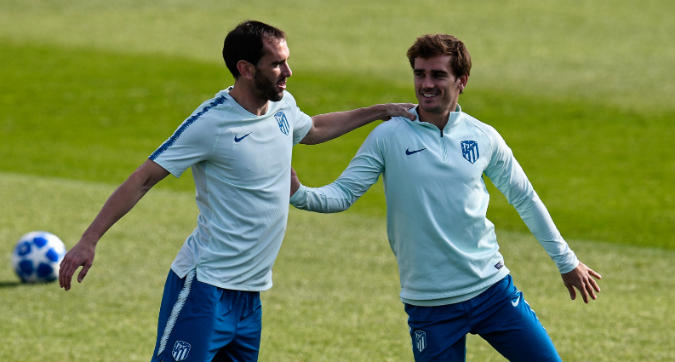 "Inter, Griezmann commenta il post di Godin: ""Loading..."""