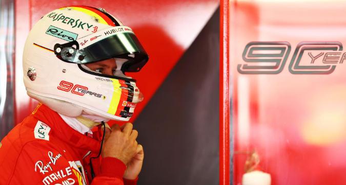 """F1 Gran Bretagna, Vettel: """"Giornata di esperimenti, Mercedes restano favorite"""""""