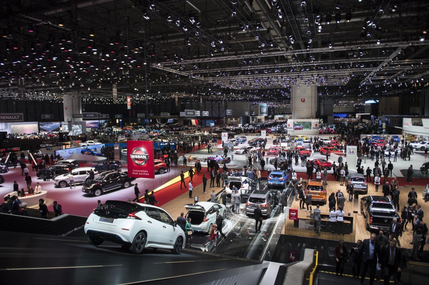 Il Salone dell'Auto di Ginevra parla italiano