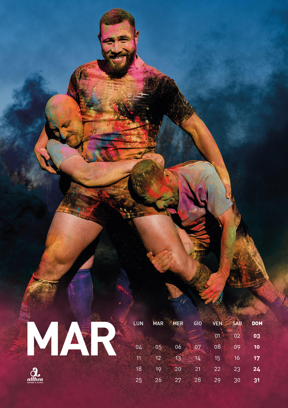 Zebre Rugby Calendario.Rugby Calendario Anti Omofobia Per Le Zebre Foto