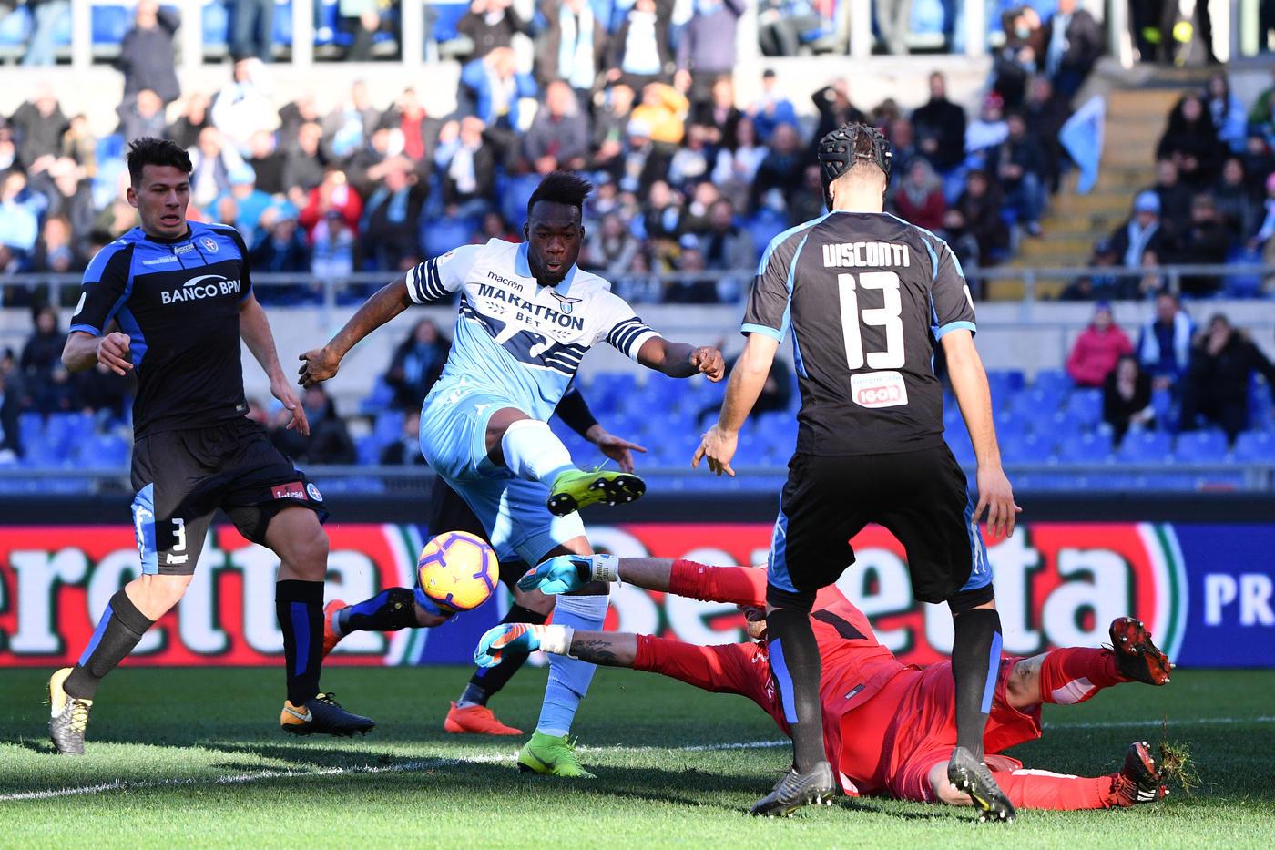 Coppa Italia, ottavi: Lazio-Novara 4-1, le foto del match