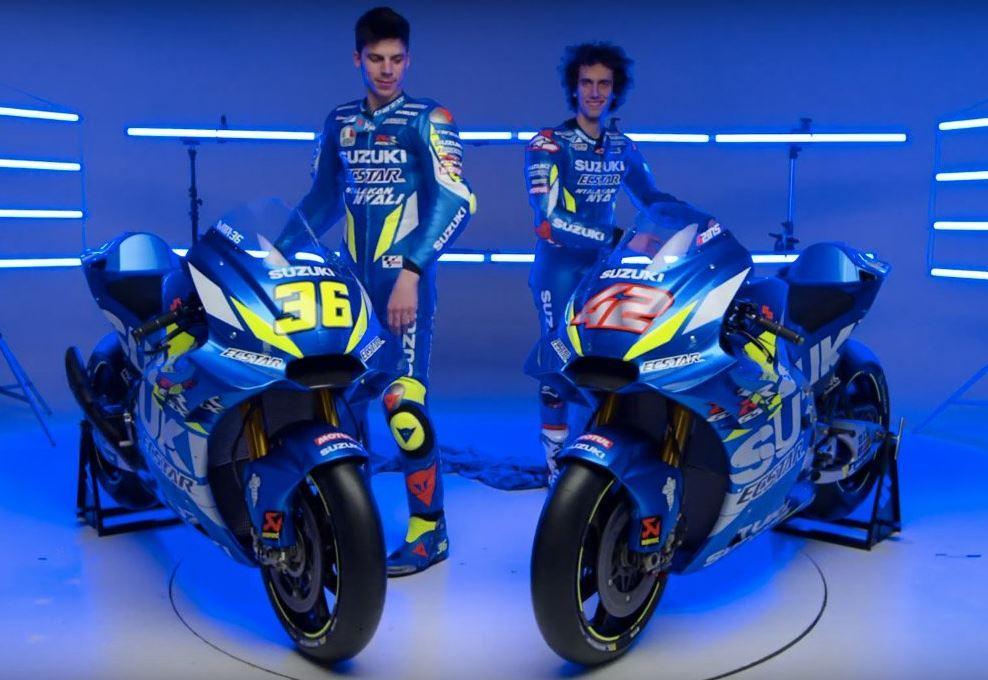 MotoGP, Suzuki presenta la nuova GSX-RR di Rins e Mir