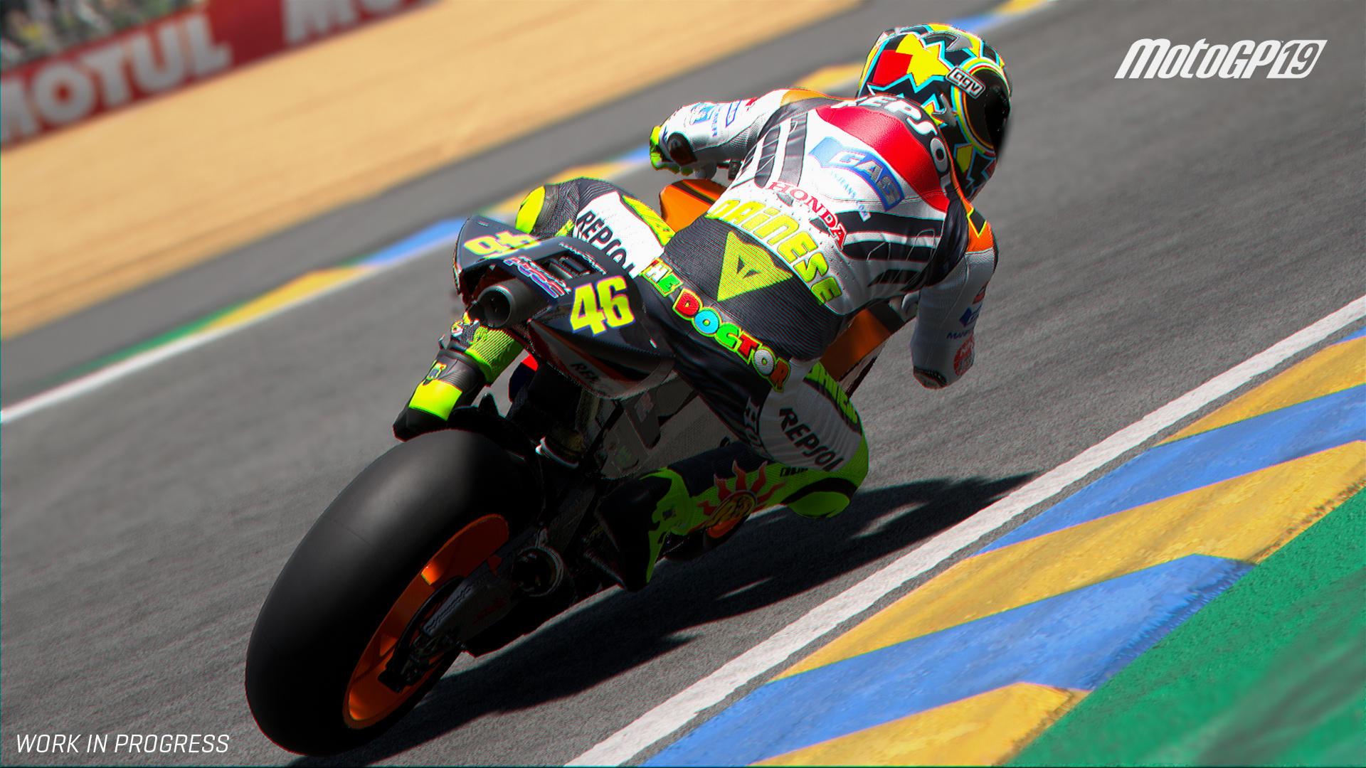 Milestone ha presentato la nuova modalità Sfide Storiche di MotoGP 19, in cui i giocatori possono rivivere alcune delle sfide più emozionanti della st...
