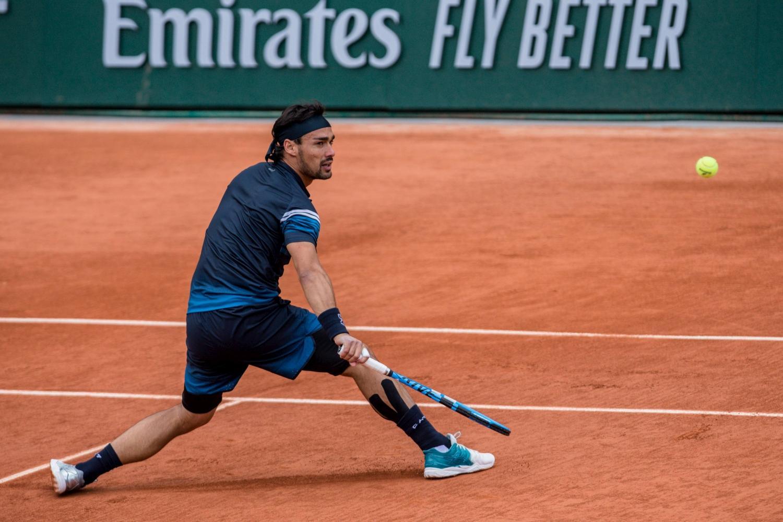 Roland Garros, Fognini avanza