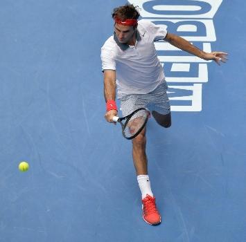 Roger Federer, foto Ansa