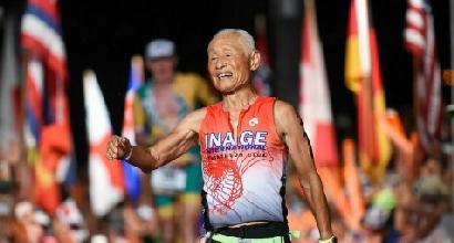 Il vero Ironman è giapponese: Hiromu Inada, a 84 anni impresa esemplare alle Hawaii