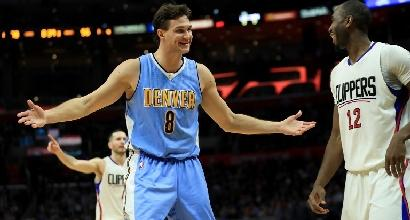 Nba: tracollo Cavs, Gallinari trascina i Nuggets
