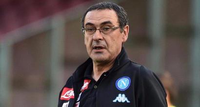 """Napoli, Sarri: """"Pensiamo al record di punti. Scudetto? Un sogno solo nostro"""""""