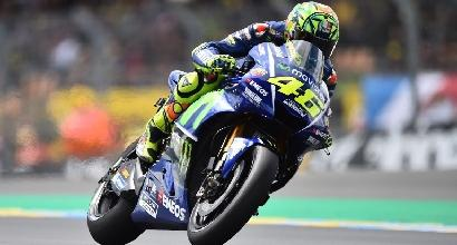MotoGP, controlli ok Rossi torna a casa