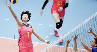 Volley, azzurre sconfitte dalla Cina nel Grand Prix 2017