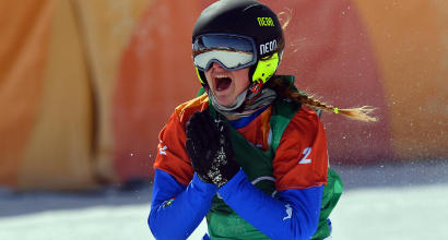 Snowboard, cross: Moioli, la festa continua. Dopo l'oro il trionfo in Coppa