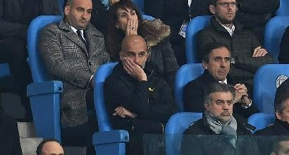 Champions, Guardiola furioso con l'arbitro. Ma è l'ennesimo euroflop