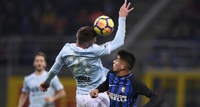 Serie A: Lazio-Inter, una poltrona per la Champions
