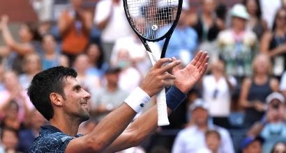 Us Open: Djokovic stende Sousa e vola ai quarti