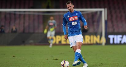 """Napoli, Ruiz: """"Sono felice di essere allenato da Ancelotti e l'urlo del San Paolo è incredibile"""""""