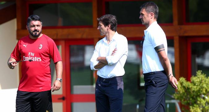 Milan, il giorno degli addii: Gattuso e Leonardo si dimettono