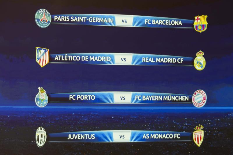 Sorteggi di Champions, Juve col Monaco